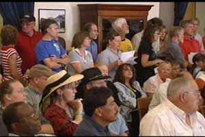 Many meetings draw dozens of citizens to sit for hours in order to speak for three minutes.