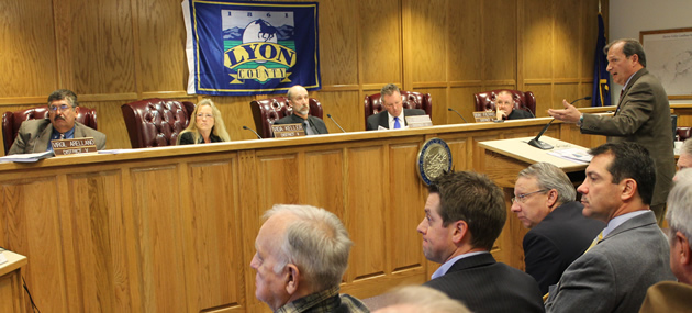 Lyon County Planning Board chided by Commissioner Keller