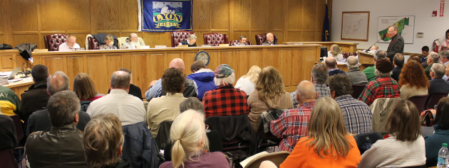 Lyon County Planning Recommends Denial
