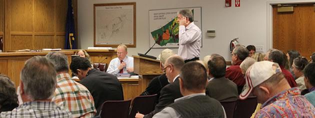 Manhard Consulting's Mark Rotter speaks on behalf of Comstock Mining