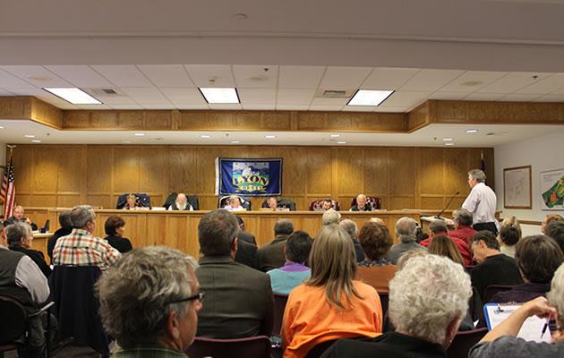 Nov. 12 2013 Lyon County Planning Commission meeting