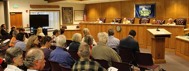 Lyon County Planning Commission, Yerington Court House