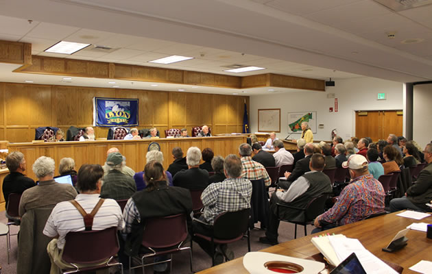 Nov. 12 2013 Lyon County Planning Commission meeting